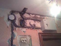 Замена электропроводки в Воронеже